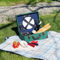 Picknick Koffer - 11-teilig
