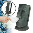 Moai Taschentuchspender - Steingesicht