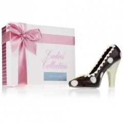 Schuh aus Zartbitterschokolade