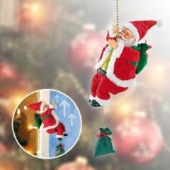 Kletternder Weihnachtsmann