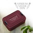 Gravierte Lunchbox - Veggie
