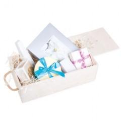 Geschenkset aus Pralinen und Schokolade - Personalisierbar