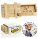 Magische IQ Box zur Hochzeit - Personalisierbar