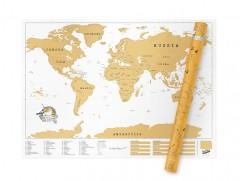 Scratch Map XL: Riesige Rubbel-Weltkarte