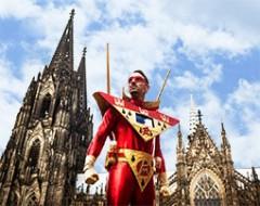 Jecke Stadtführung durch Köln für 2 Personen