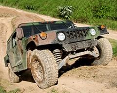 Hummer im Gelände selber fahren (Mitteldeutschland)
