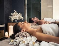 Romantische Massage für 2 Personen