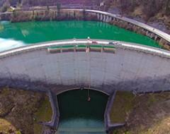Bungee Jumping am Staudamm Klaus in Oberösterreich