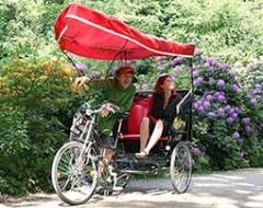 Rikscha-Picknick-Tour für 2 Personen