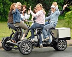 Round-Table Bike für bis zu 6 Personen in München