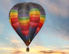 Romantische Ballonfahrt über Stuttgart für 2 Personen