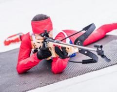 Biathlon-Schietraining
