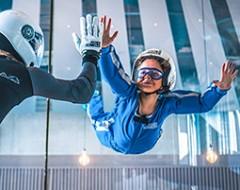 Bodyflying für Kinder (2 Min.) - Arena München