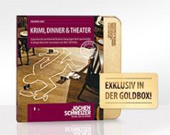 Erlebnis-Box Krimi, Dinner und Theater
