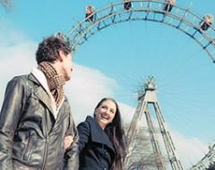 Wien Kurztrip mit Riesenrad  Stephansdom für 2 Personen