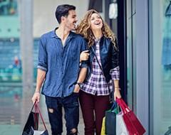 Shopping Wochenende in Stuttgart für 2 Personen