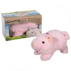 flauschiges Kuscheltier Schwein mit Soundeffekt