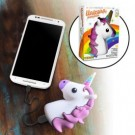 bunte Powerbank in Einhornform