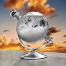 Wettervorhersage mit diesem Sturmglas in Globusform