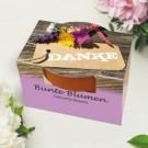 Blumenset zum Selberpflanzen als kreatives Dankeschön