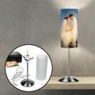 Lampe mit individuellem Foto zur Hochzeit