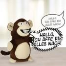 nerviger sprechender Affe
