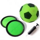 Kinder-Torwandschieen mit dem Fuball-Set für Drinnen
