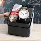 originelle Armbanduhr mit physikalischen Ziffern