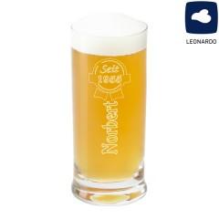 gravierter Bierbecher für Bierfans