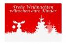 weihnachtliche Fumatte mit Elch