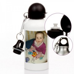 hochwertige Trinkflasche mit deinem Wunschfoto