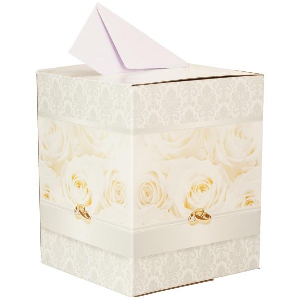 Kartenbox Hochzeit Glas.Box Fur Gluckwunschkarten Zur Hochzeit Als Geschenkidee Bei