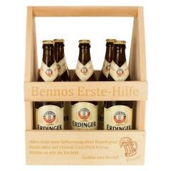 Erste Hilfe-Bierkasten aus Holz