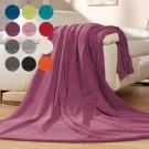 flauschige Decke mit besticktem Namen