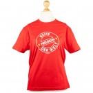 rotes T-Shirt für die Beste Freundin