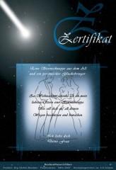 Meteorit aus dem Weltall - Hochzeitsset mit Zertifikat
