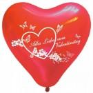 50 Stk. Herzluftballons für einen romantischen Valentinstag