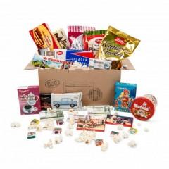 Schokoladenbox mit Ost oder West Süßigkeiten