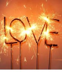 Wunderkerze LOVE