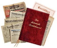 Original Tageszeitung  von 1900 bis 2009