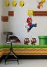 Supermario Wandsticker